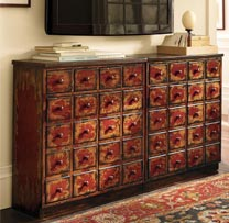 Wooden 40 Drawers Chest