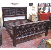 Wooden Old Door Bed