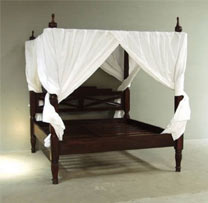 Wooden 4 Poster Bed