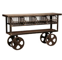 Industrial Iron Trolly
